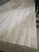 1220*2440mm paulownia wood finger joint board customized