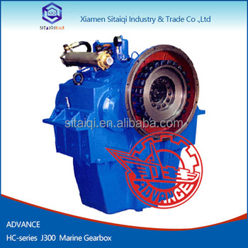 Advance J300 model diesel marine engine with 25kn gearbox for ship