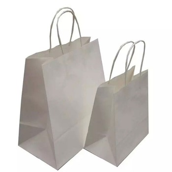 China supplier high quality cheap branded retail white paper bag for shopping & gift