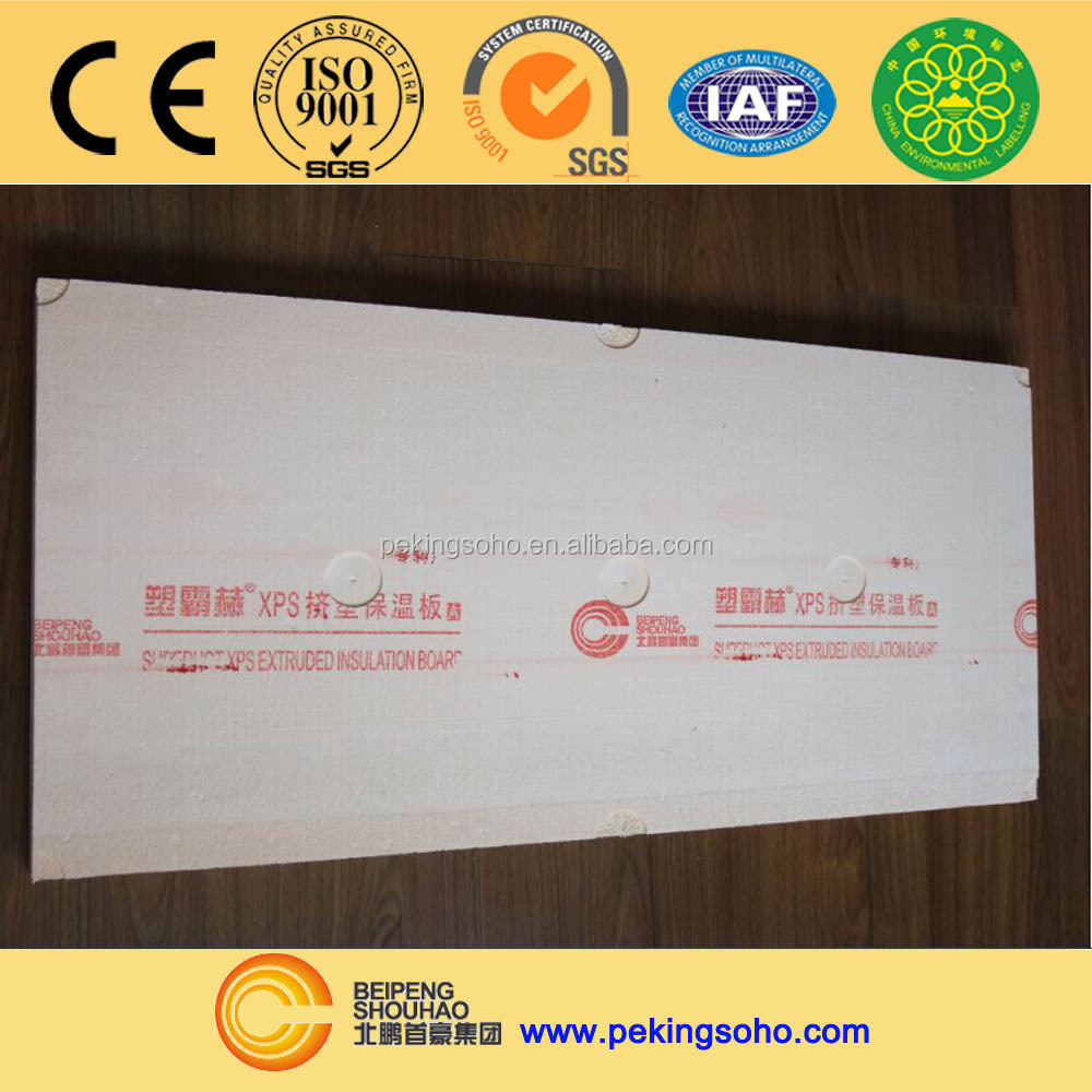 Lightweight Styrofoam Thermal Insulation Board for Buildings
