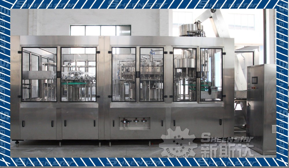 Soda Water Filling Production Line/Automatic Energy drink Filling Line