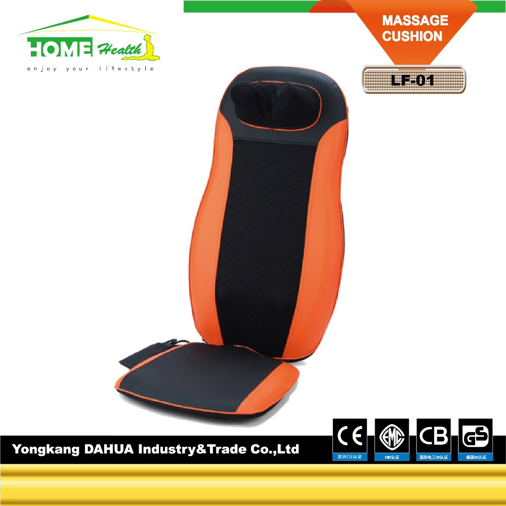 Comfortable Shiatsu Infared Function For Neck Back Shoulder Massager Cushion With Home Or Car