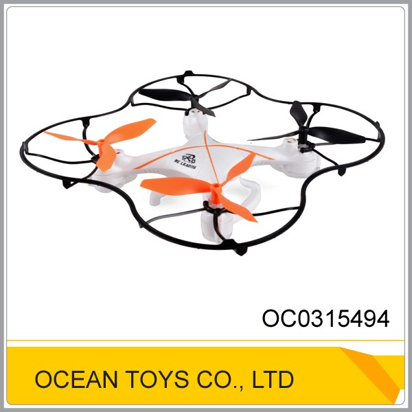 Medium size 2.4g quadcopter 6 axis aerocraft drone rc ufo with light
