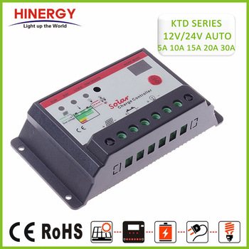 Solar Battery Controller With Intelligent Control 12 Voltages 24v 5a 10a 15a 20 Amperes 30a