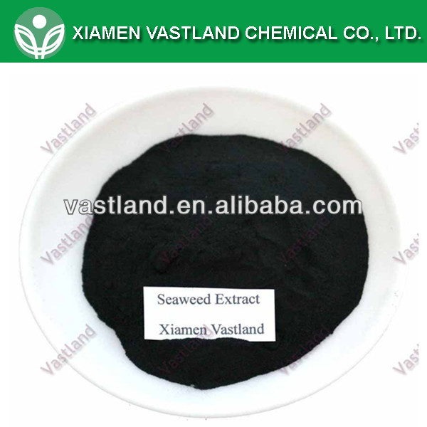 Seaweed extract for import fertilizers