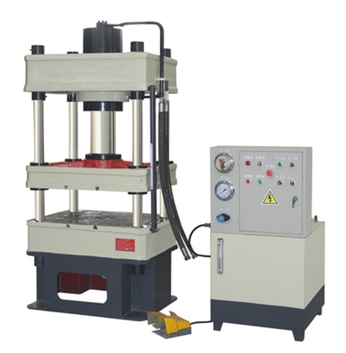Y32 series 4 four column ceramic tiles manual hydraulic press machine,double action deep drawing hydraulic press