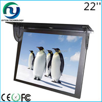 "19""- 22"" android wifi 3g network signge bus monitor lcd advertising player"