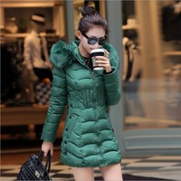 high quality 2017 new coat jacket for ladies plus size