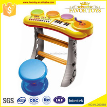 Multifunctional plastic musical instruments kids toys electronic organ