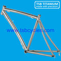 China cheap 700C titanium bmx bicycle frame TSB-WQR1001