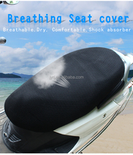 3d polyester seat motorcycle cover full mesh honeycomb mesh seat cover for motorcycle