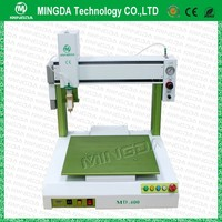 Professional producer glue dispensing machine Mingda hot melt glue dispenser 3 axis epoxy dispensing equipment