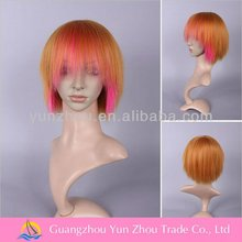 Factory high quality heat resistant synthetic hair wig hair updos
