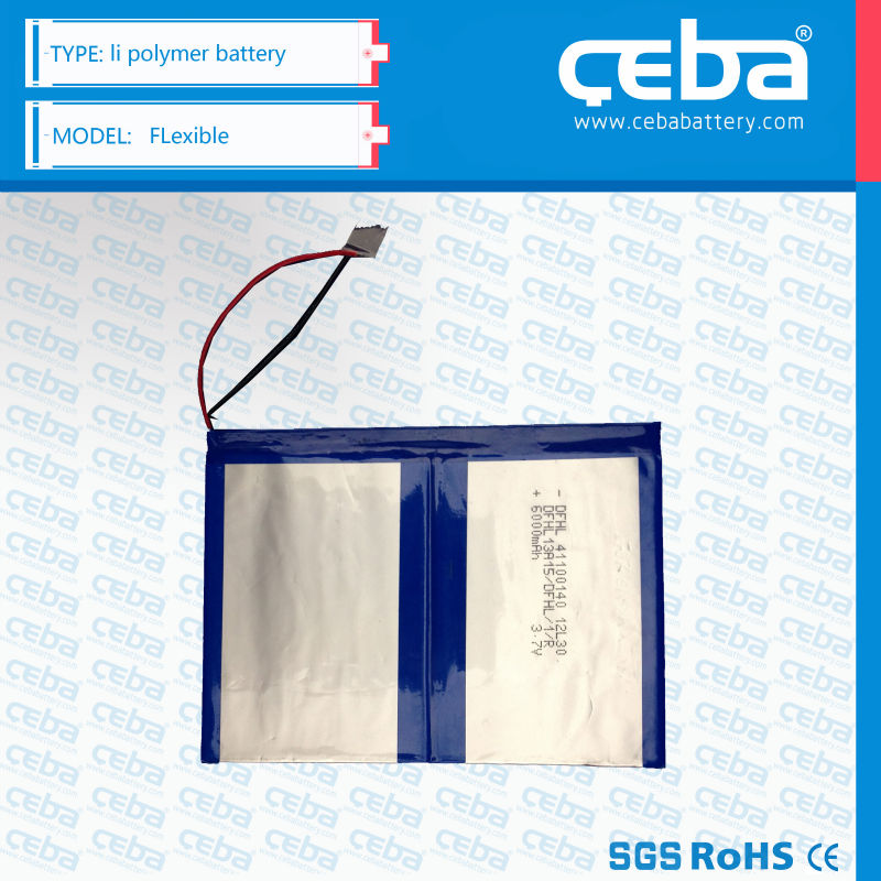 Ceba 3.7v 200mah li-po battery hot product for blue tooth/ RC toys