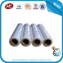 100% pure PE stretch film, we ensure high quality and good price