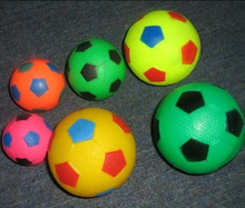 Custom inflatable toy football ball or mega toy ball