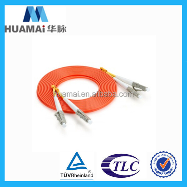 ftth G652 G657 fiber optic patch cord,patch cord price, lc/pc-lc/pc duplex mm fiber patch cord