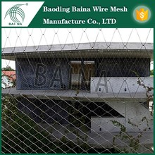 Exterior Facades Decorate Wire Mesh Fence/Metal Decoration Mesh Fence/Exterior Protection Woven Wire Mesh