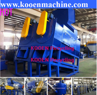 Low price waste pet bottle crushing washing drying recycling production line
