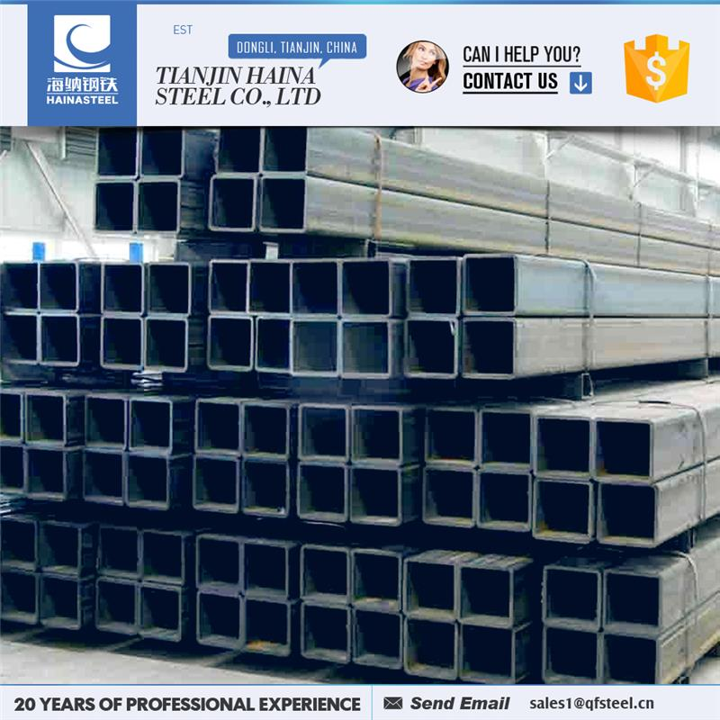 building steel materials 200x200 square steel pipe with great price