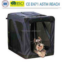 Pet Soft Crate with Curtain