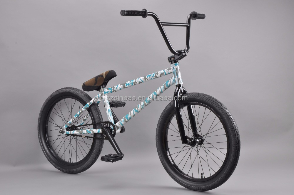 Full chromoly 4130 double butted camouflage BMX Bike BMX