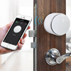 Battery Powered Home Security Bluetooth Digital Door Lock with Smart Phone Control
