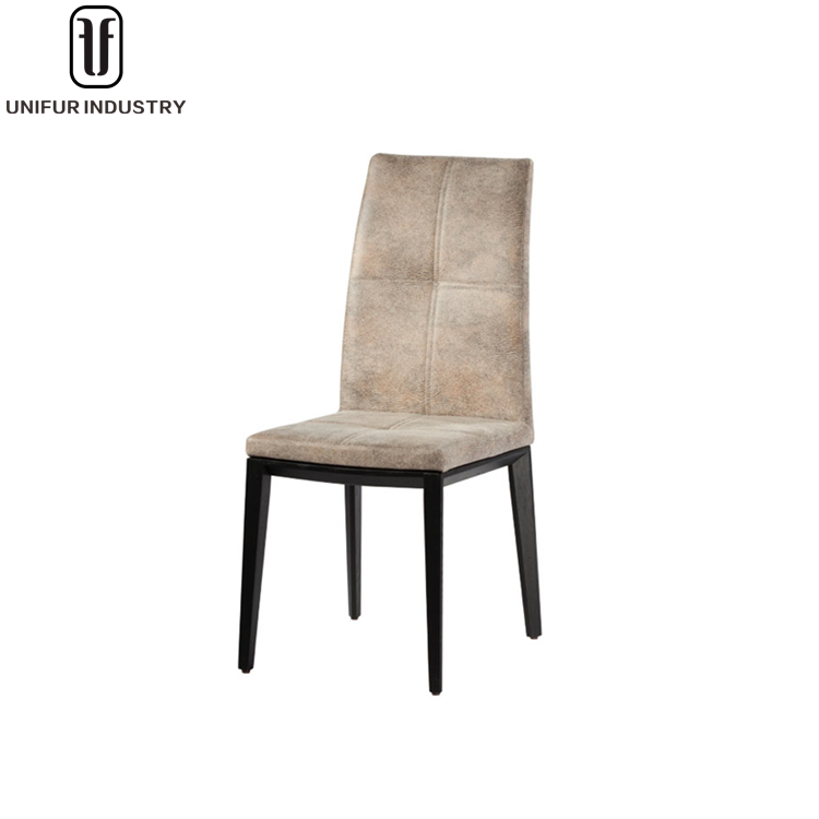 Replica popular beautiful side upholstered high back hotel chair for hotel/restaurant