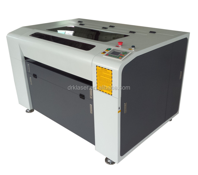 Desktop CNC laser metal cutting machine price DRK1290 1390 1490 laser cutter with reci laser tube
