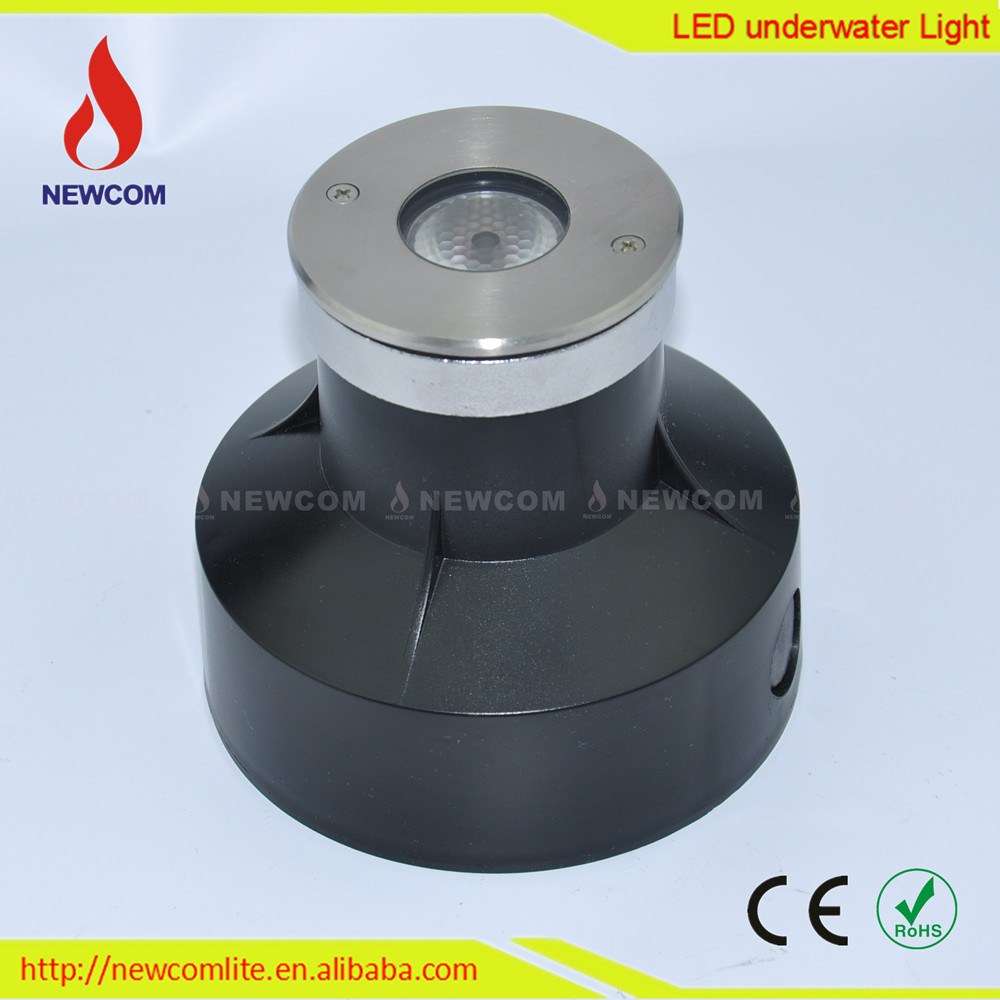 Stainless Steel Housing Ip68 Underwater 3w Led Pool Light