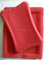 Silicone rubber tablet protective case cover for IPAD