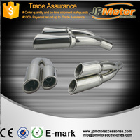 universal motorcycle muffler exhaust pipe stainles steel silencer for bikes