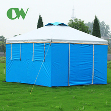 Widely used funny gazebo beach extra large cube house shaped outdoor camping garden tent price