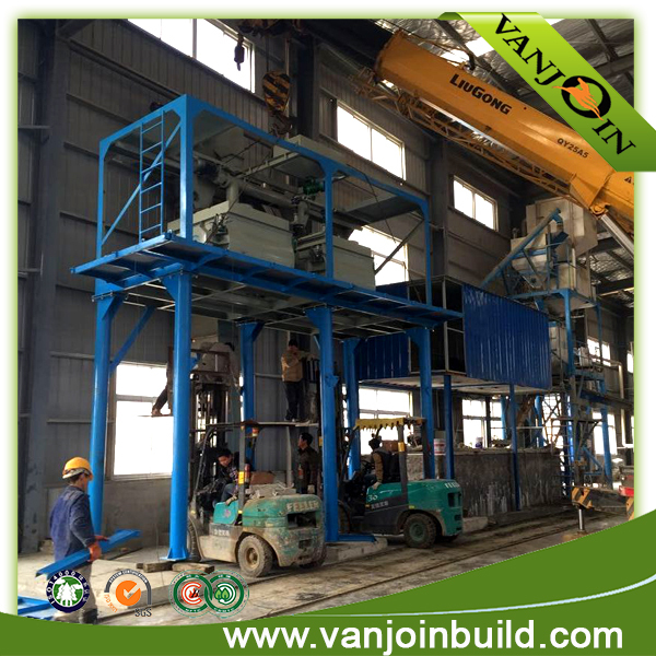 Lightweight Speed Sandwich Panels Production Line Concrete Wall Making Machinery