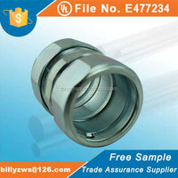 UL listed factory price mechanical parts in pipe fittings rigid conduit compression coupling
