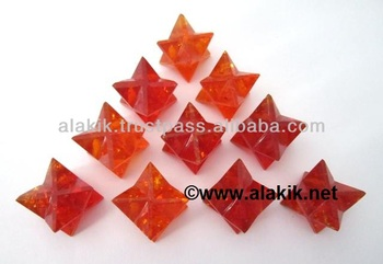Amber Merkaba Star : Wholesale Merkaba Star