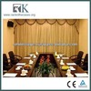 Buil-in Receiver Motor Curtain With High Quality Luxury Drapes