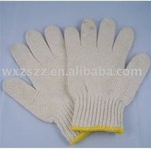 Knitted cotton glove in penang for industrial use