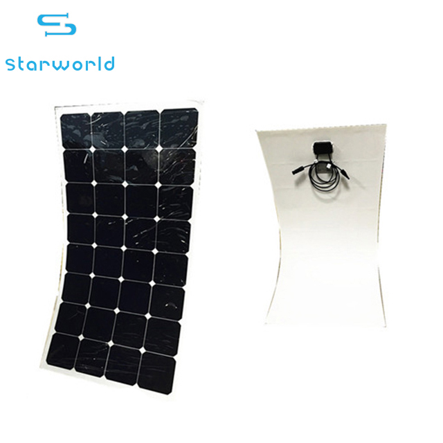 Bendable PV Module Solar Panels Thin Film Flexible Roof Solar Panel 100W 120W 150W