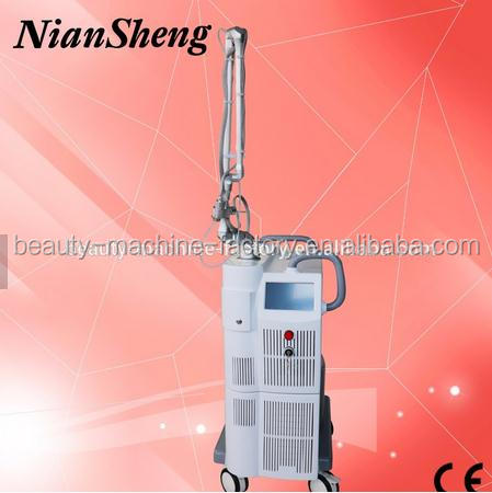 2017 Fractional CO2 Laser / vagina cleaning machine / skin rejuvenation beauty machine