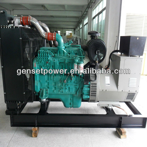 Open Type 100 kw Electric Generator Price with Cummins Engine