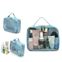 Promotional Fashion Pvc Transparent Cosmetic Bag