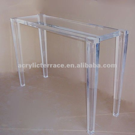 plexiglas tisch f r systemkonsole des modernen entwurfs. Black Bedroom Furniture Sets. Home Design Ideas