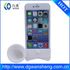 For iPhone 6 Horn Stand Speaker Silicone Case/Silicone horn stand amplifier for iphone6