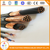 0.6/1kV PVC Insulated Copper Wire Braid Shield PVC Sheath Control Cable (CVVSB / TFR-CVVSB / HFCCOSB