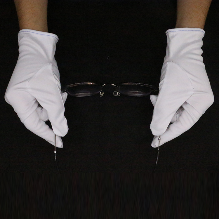 Latest products white cotton gloves