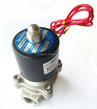 220VAC Cheap SS Water Spring Solenoid Valve