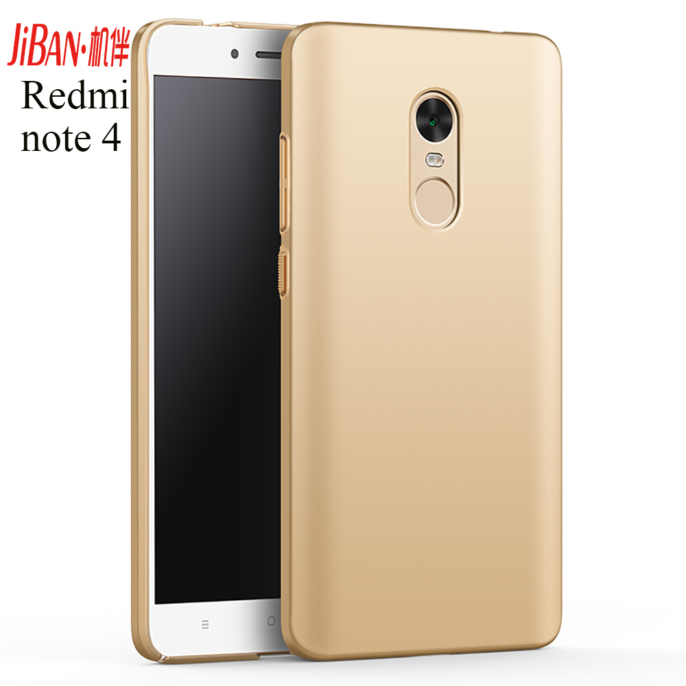 Free sample colorful series no-fade ultra-Thin silky hard pc shockproof anti-fingerprints phone case for Xiaomi Redmi Note4
