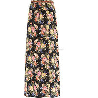 Floral printing jaipur long skirt