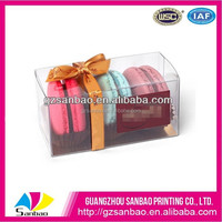 clear plastic brownie packaging box